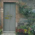 Luss Door & Flowers